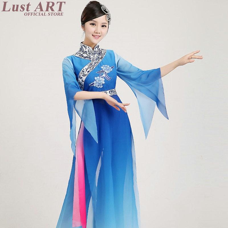 2016 nouvelle arrivée de danse folklorique chinois antiques chinois costumes de danse costume dames élégantes oriental