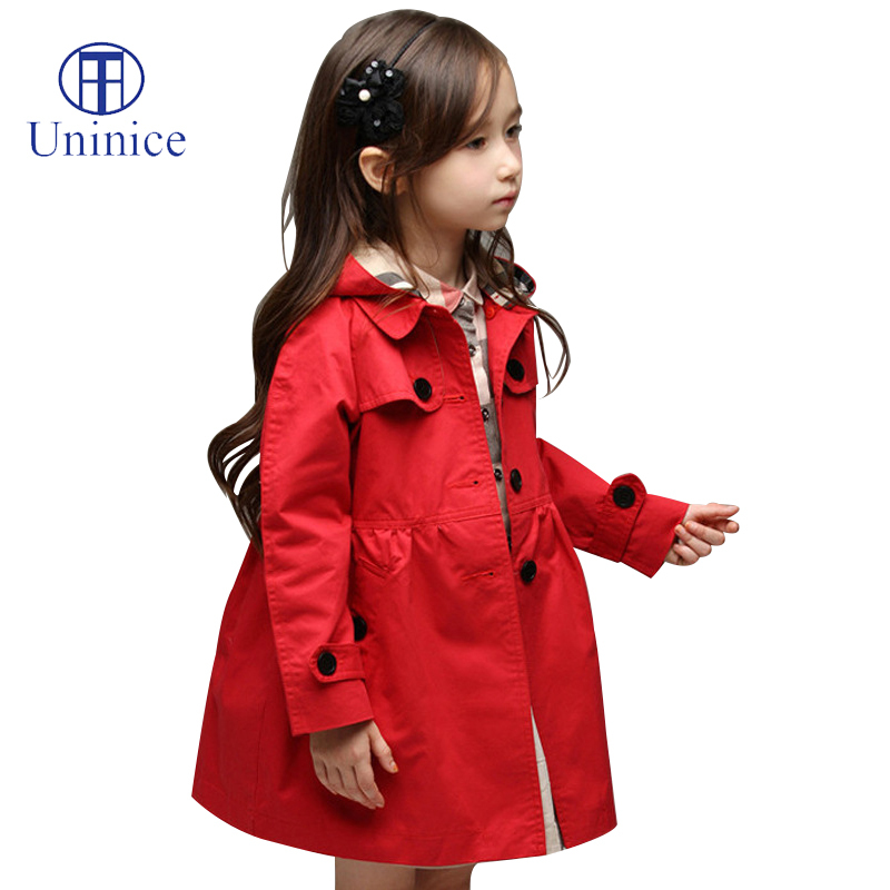 2016 New brand Girl's Fashion jackets Spring Autumn Girls outerwear&Coats Trench Hoodies Jackets winter Children's Coat  -  Teenage store(drop shipping store)
