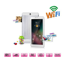 7 inch Android Phone Tablet PC 1024*600 Dual Core Dual Sim Dual Cam Phablet 2G/3G GSM/WCDMA Wifi FM GPS Bluetooth