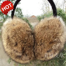 New arrival! 100% rabbite fur earmuffs korean style winter thermal ear cover for women men best quality multicolor(China (Mainland))