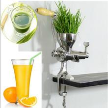Mini type manual wheatgrass / apple lemon orange tomato wheat grass juicer machine ZF - Zhoufeng Machinery & Technology Co., Ltd. store