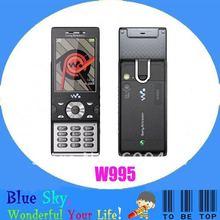 Swiss post free shipping Sony Ericssion W995 quad-band phones(China (Mainland))