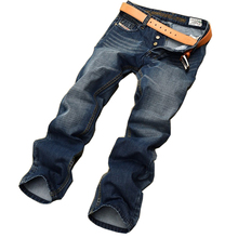 Classic top designer famous brand straight men jeans fashion Europe and America style  robin denim jeans man MJ12(China (Mainland))