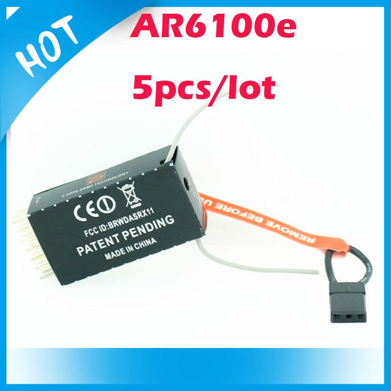 5pcs AR6100E Receiver 2.4GHz 6CH Receiver Free