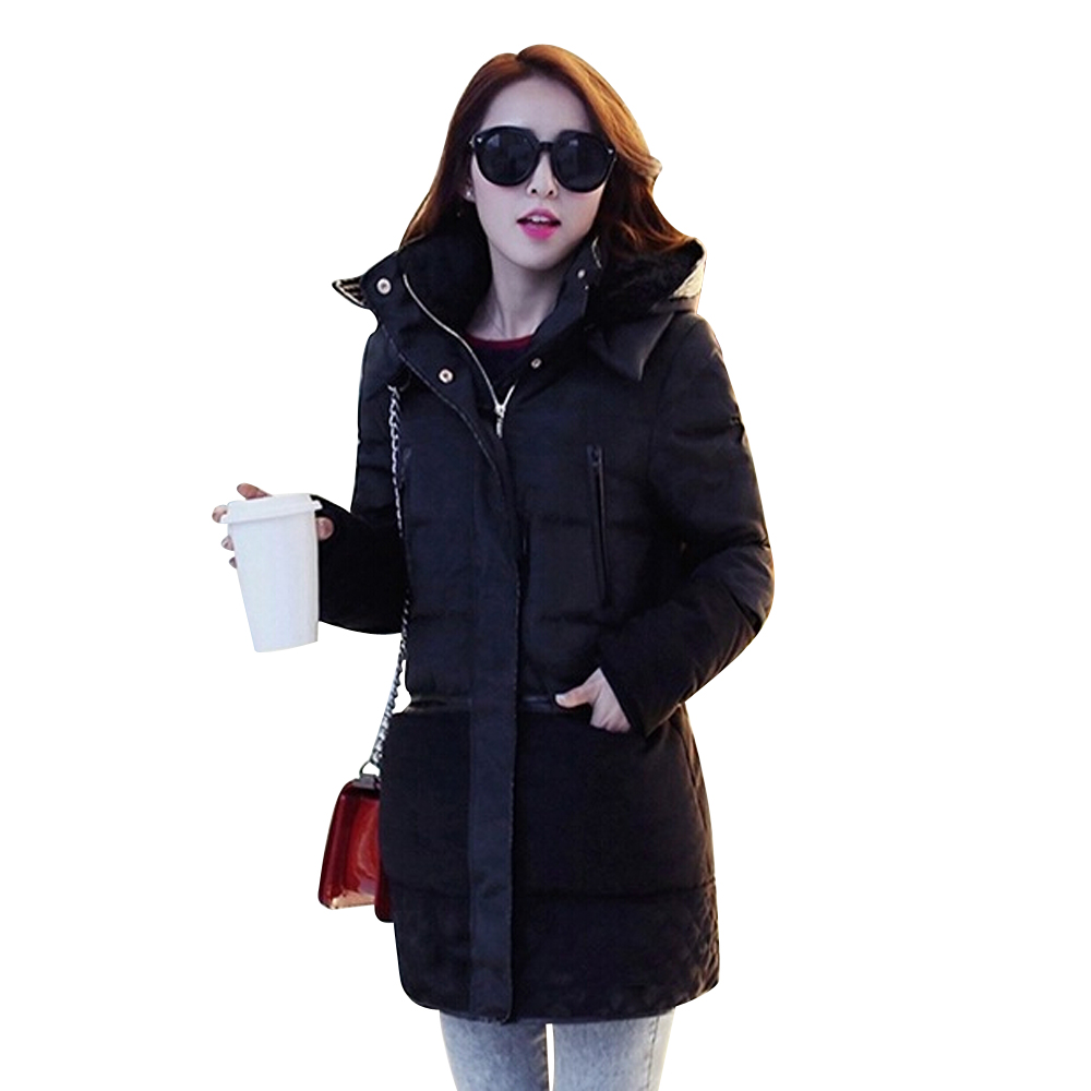 Winter Jacket Women 2015 New Fashion Korean Hooded Winter Coat Women Medium Long White Duck Down Parkas Women Size S-3XL MA0537Одежда и ак�е��уары<br><br><br>Aliexpress