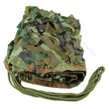 Free shipping !!! Woodland Leaves Camouflage Camo Net For Hunting Camping Military Photography