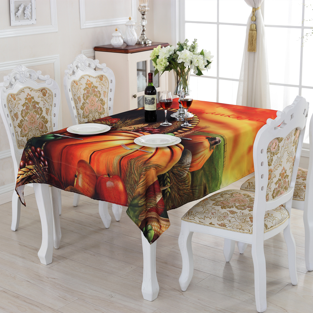 2016 New Family Expenses Oilproof A Variety of Colors Fruit Pattern Tablecloth Creative Design Customized Acceptable ZS-13(China (Mainland))