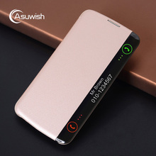 Buy Asuwish Smart View Auto Sleep Wake Leather Case Flip Cover Luxury Shockproof Phone Cases LG K10 LTE K420N K430 K430DS F670 for $5.52 in AliExpress store