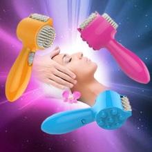 Brain Relaxation Massager Electric Vibrating Comb Teeth Massage Hammer Health Care Masajeador Fisioterapia Massageador Corporal
