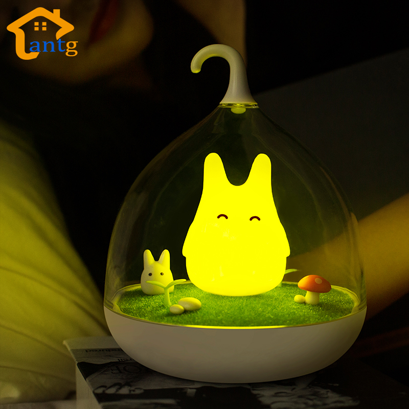 The Spiderwick Touch Lamp,Fantasy fairy Creative Portable Touch Sensor Night Light USB Rechargeable Baby Bedside Landscapes Lamp<br><br>Aliexpress