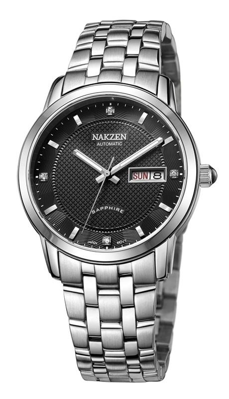 NAKZEN SS6022G-1 watches men luxury brand JAPAN MOVT MIYOTA automatic mechanical watches luminous calendar relogio masculino<br><br>Aliexpress