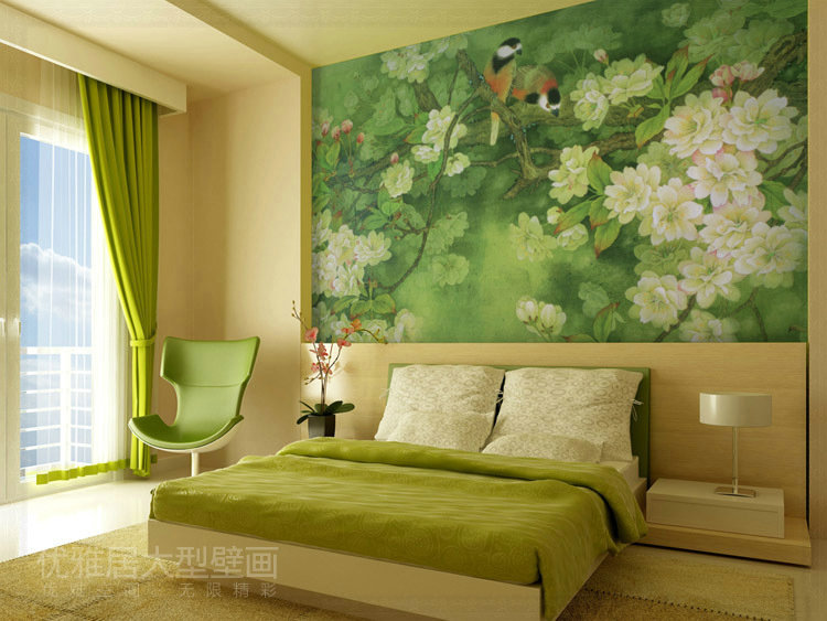 Wallpaper wallpaper mural tv background wall wallpaper for Chinese wallpaper mural