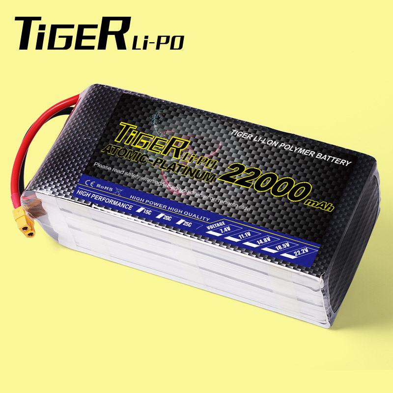 Agriculture UAV quadcopter RC drones 6s RC lipo bateria 22000mah lithium 22.2v 25C lipo battery manufacturer from China Alibaba(China (Mainland))