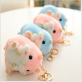 2016 12cm New Listing Cute plush Toy Doll Creative Hamster 2 paragraph Doll Lovers Hangs Gift