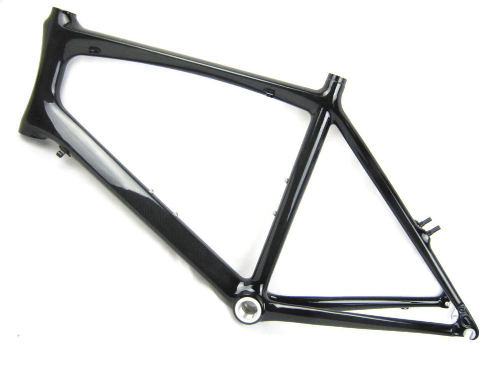 free shipping mini velo carbon fiber bike frame,45cm size bicycle frame 1-1/8'' regular BB,for adult / kids road bike frame(China (Mainland))