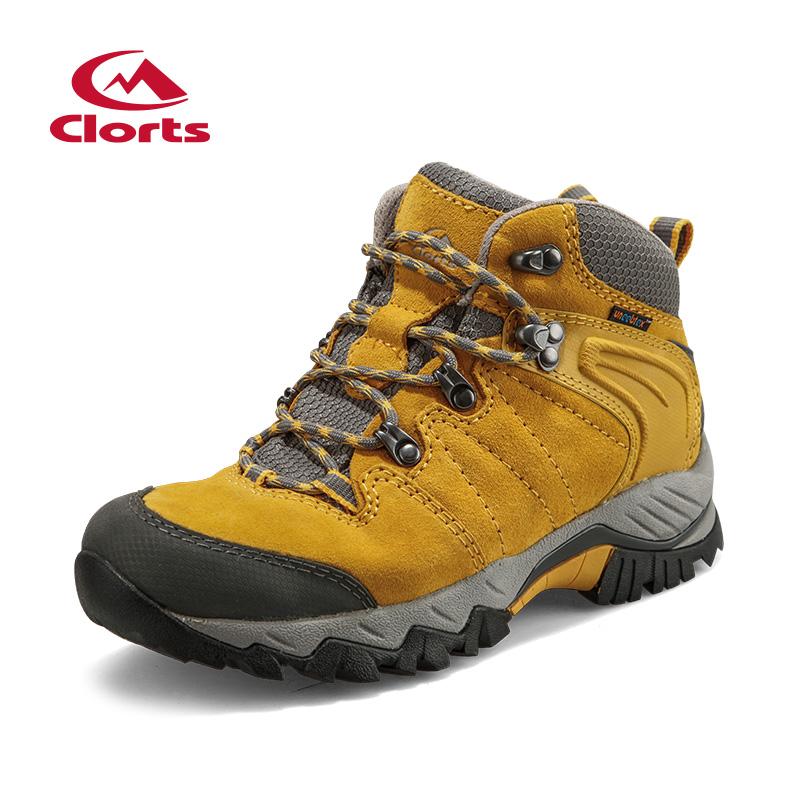 2016 Clorts Women Hiking Shoes Waterproof Mountain Shoes Outdoor Shoes High Top For Women Free ...