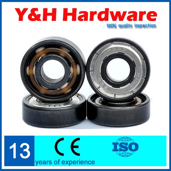 Sales, 16 PCS, ABEC11 Hybrid Ceramic Bearing 608-2RS with Zirconia ZrO2 Balls for Roller Skate(China (Mainland))