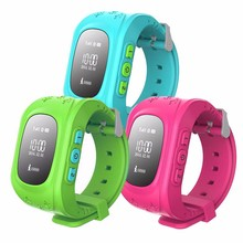 2016 Smart Kid Safe GPS Watch Wristwatch SOS Call Location Finder Locator Tracker for Kid Child Anti Lost Monitor Baby  Gift Q50