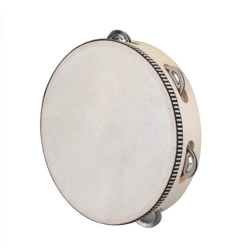 """Big Promotion 8"""" Musical Tambourine Drum Round Percussion Gift for KTV Party(China (Mainland))"""