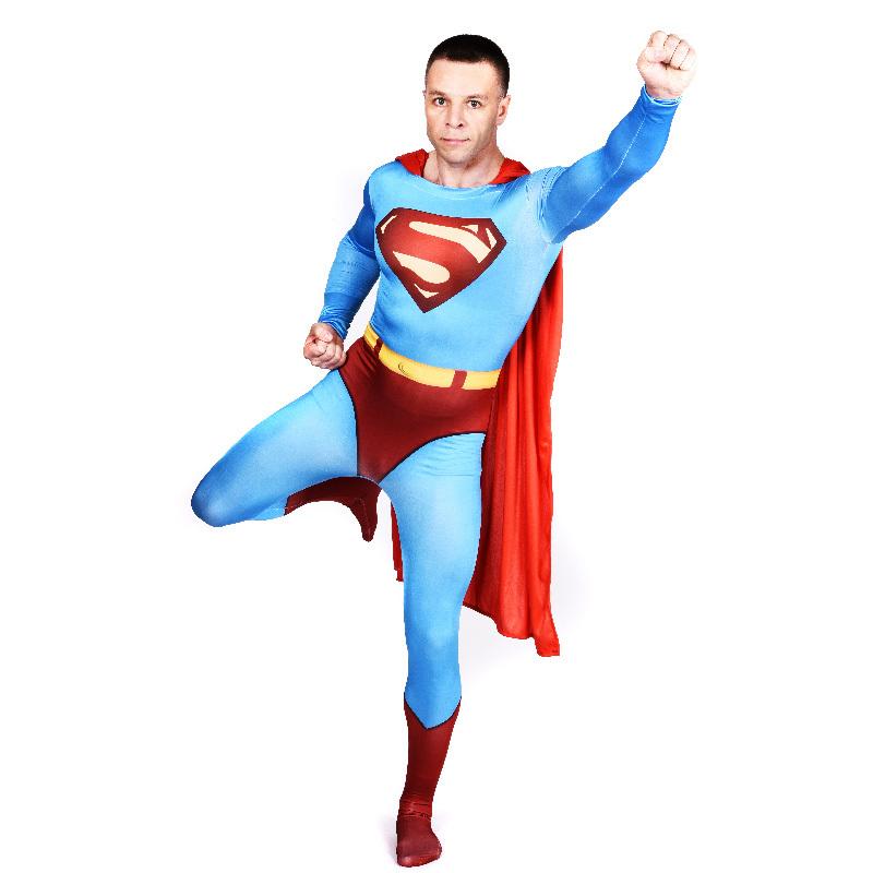 Aliexpress.com : Buy adult Superman costume Halloween ...