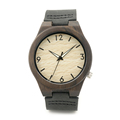 Bobo Bird B11 Luxury Brand Design Bamboo Wood Watches With Genuine Leather Bracelets Straps Mens Watches