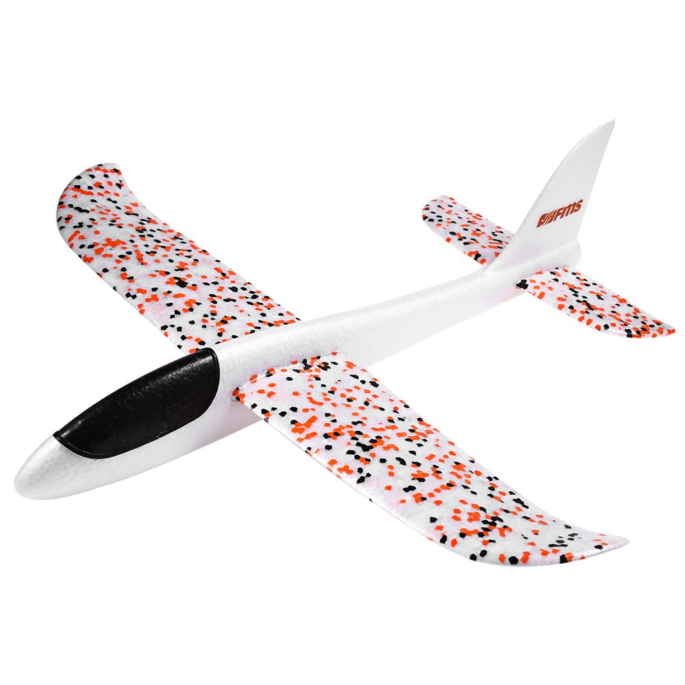 FMS Mini Fox Hand Throw Fixed-wing RTF Durable EPO Material Airplane Early Educational Frame Kit Toys Gift For Kids Children(China (Mainland))