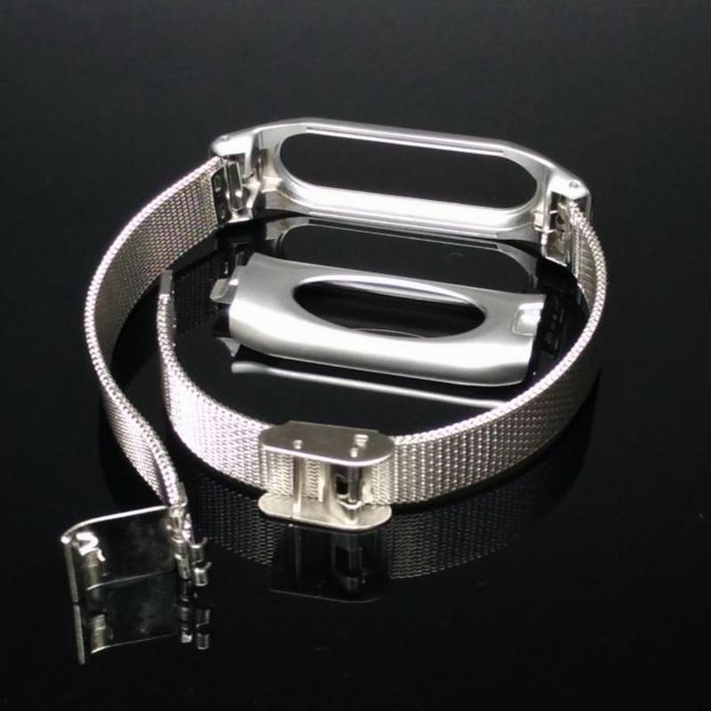 Brand Top Quality Metal Xiaomi Mi Band 1A 1S Wrist Strap Miband Wrist Band For Original Xiaomi Mi Band Miband 1S Smart Bracelet(China (Mainland))