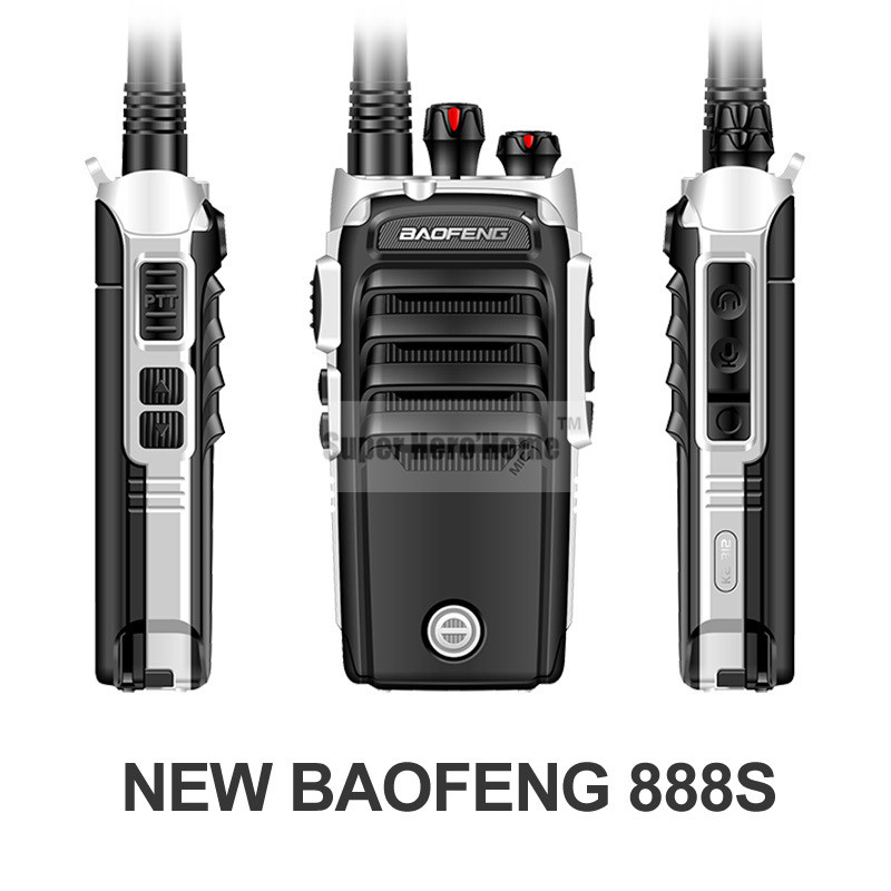 Baofeng BF-888S Professional Walkie Talkie 4th BF 888S 5W Power UHF 400-480MHz Portable Two Way Radio Push To Talk PTT(China (Mainland))