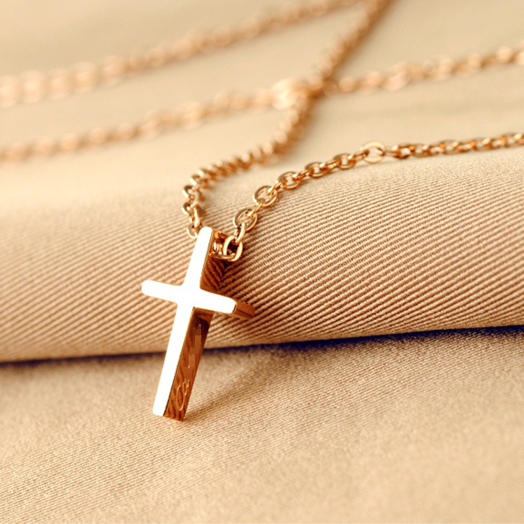 14k gold crucifix necklace images