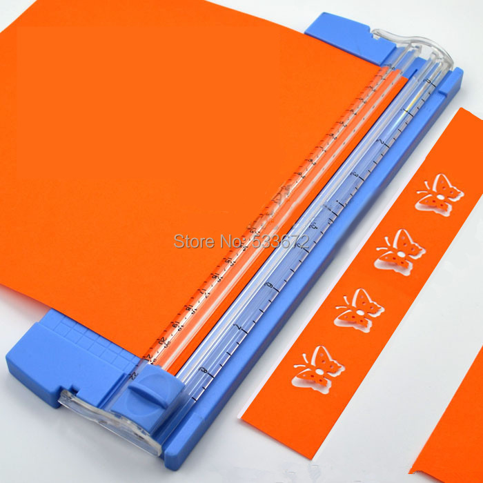 buy paper cutter The a4 rotary paper trimmer is ideal for cutting paper, photos and card, especially when you need an accurate, straight finish it gives you the option, so it would have been nice to buy just a replacement head rather than a whole cutter.