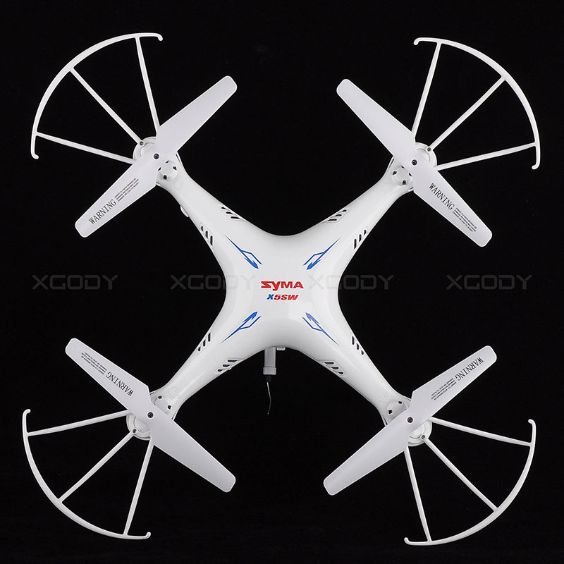 Syma X5SW 6-Axis Gyro 2.4G 4CH Real-time Images Return RC FPV Quadcopter drone WIFI with HD Camera