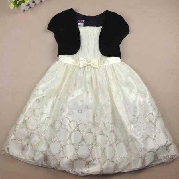 Wedding Dress For Kid Girl Fashion Girls Ball Gown Princess Kids ...