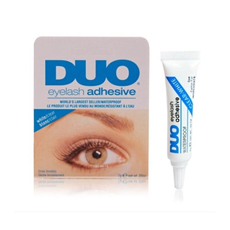 Cola chicote Eyelash Adhesive Cola para cílios À Prova D' Água Dos Cílios Falsos Acessórios Azul/vermelho Transporte da gota MU-119
