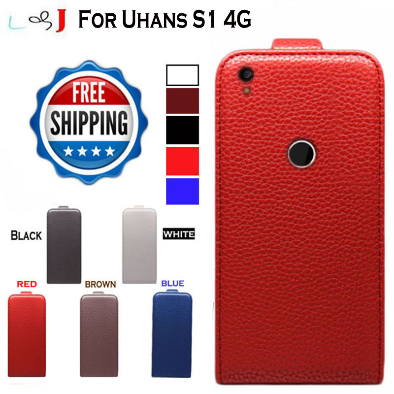 2016 New High Quality Pu Leather Flip Case For Uhans S1 4G Case Cover Free Shipping
