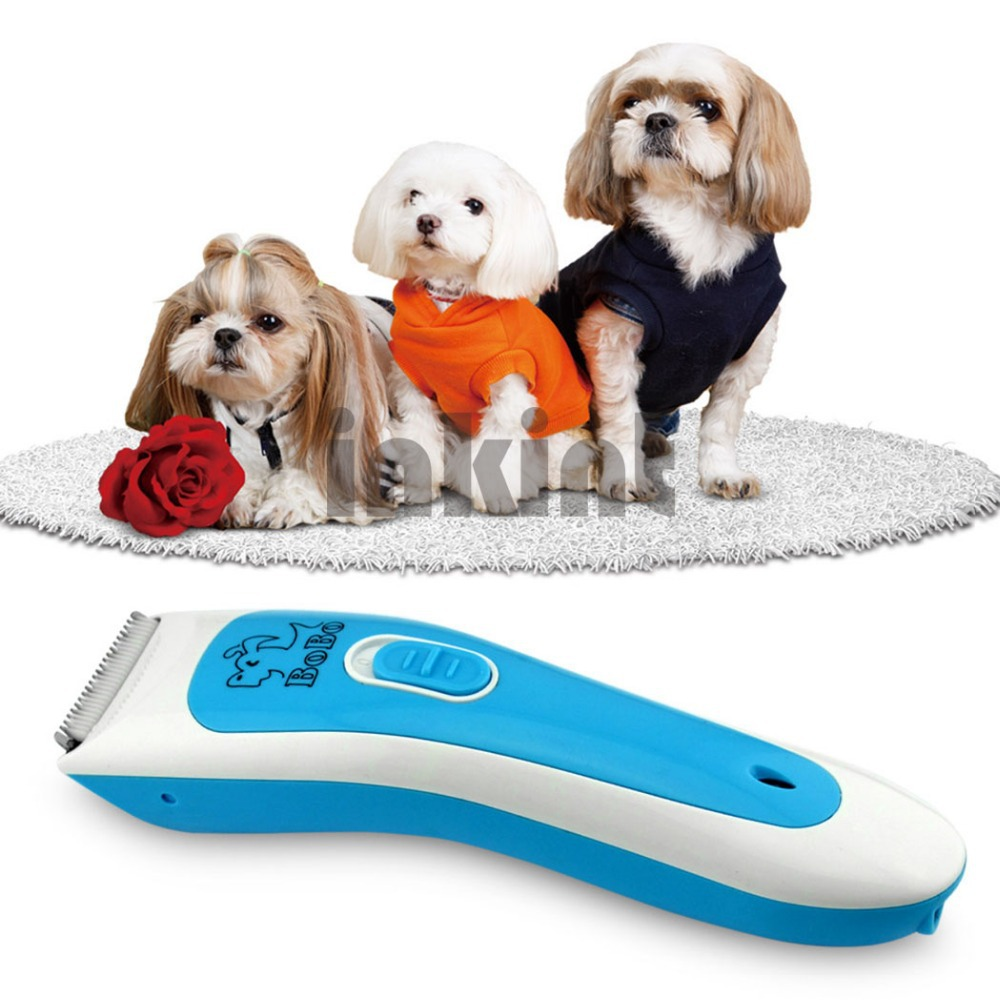 Rechareable Pet Grooming Kit Dog Pet Hair Trimmer Clipper Animal Hair Cutter Shaver RCS47B-52f(China (Mainland))