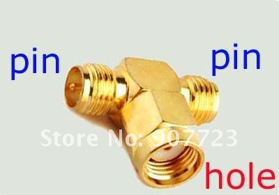 50pcs RF SMA Connector Adapter RP-SMA male to RP-SMA female<br><br>Aliexpress