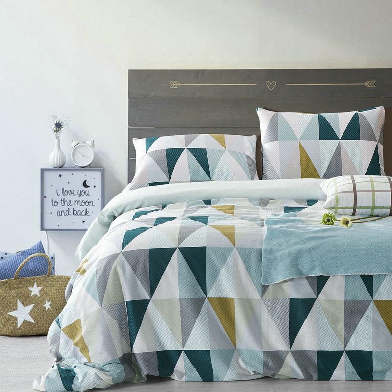 achetez en gros couette g om trique en ligne des. Black Bedroom Furniture Sets. Home Design Ideas