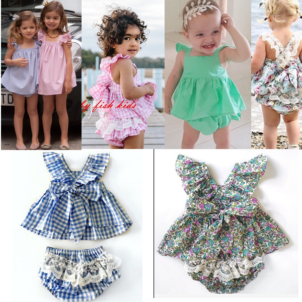Wholesale Summer Toddler Girl Clothing Sets Baby Kids Ruffles&amp;bow Belt Tops&amp;lace Pants Clothings Princess Girl Cute Sets<br><br>Aliexpress