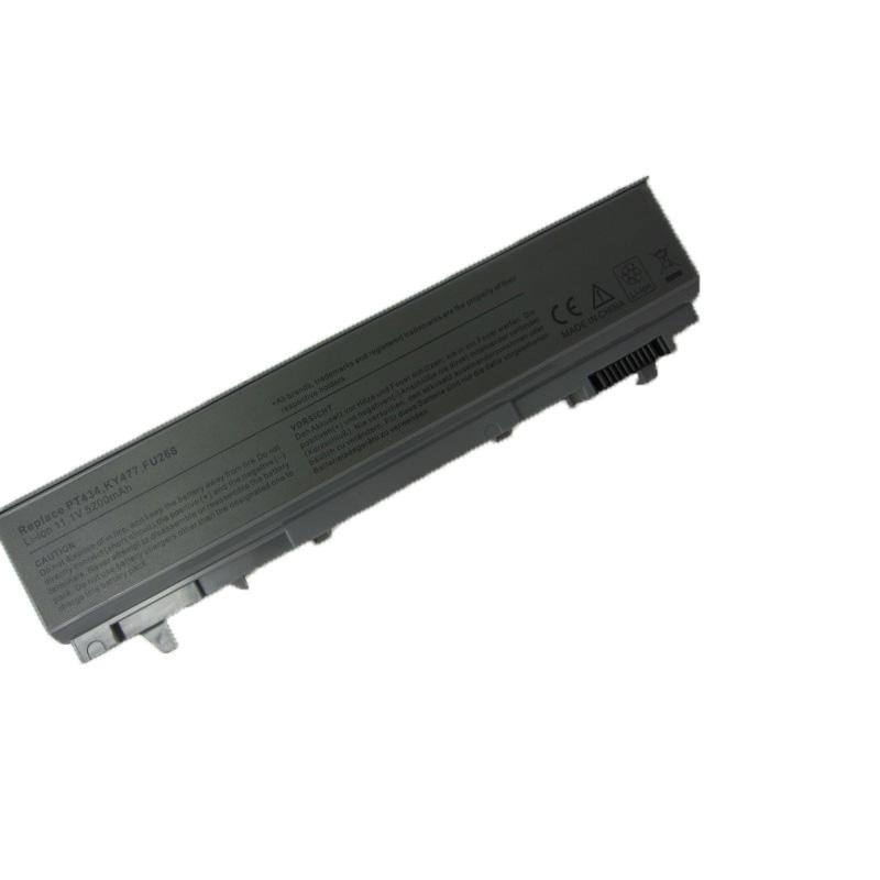 5200mAh Laptop Battery For dell Latitude E6400 M2400 E6410 E6510 E6500 M4400 M4500 PT436 PT437 KY477 KY265 KY266 KY268(China (Mainland))