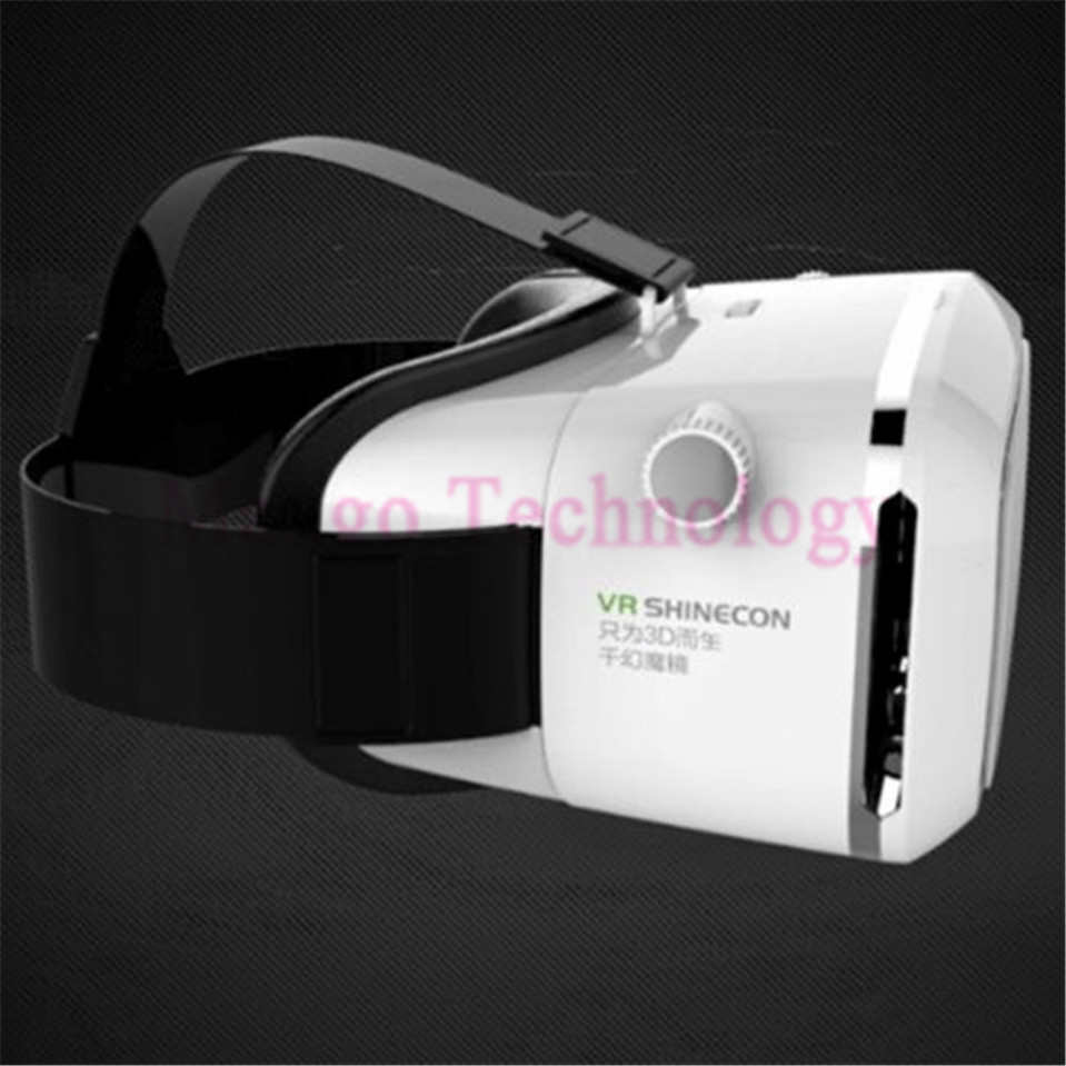 ถูก VR BOX Moke Plastic Version Wireless Mouse gamepad VR 3D Glasses google cardboard HD VR Glasses + Phone Bluetooth