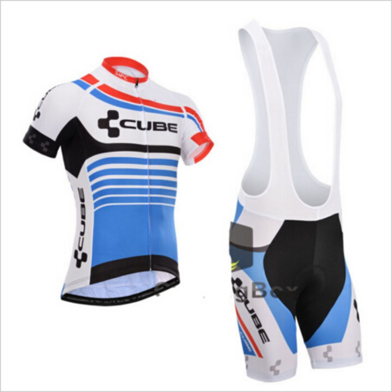Pro Cube Team Jersey Cycling Clothing Ropa Ciclismo/Racing Bike Cycling Jerseys Mountain Bicycle Jerseys Cycling Wear(China (Mainland))
