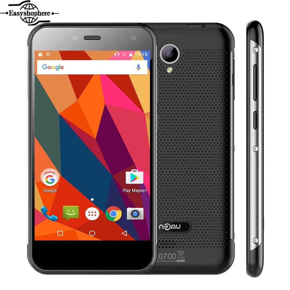 "5.0"" Nomu S20 Mobile Phone MTK6737T Quad Core 3G RAM 32G ROM Smartphone 4G Lte 3000mAh 13.0MP 1280x720 Waterproof OTG Celular(China (Mainland))"