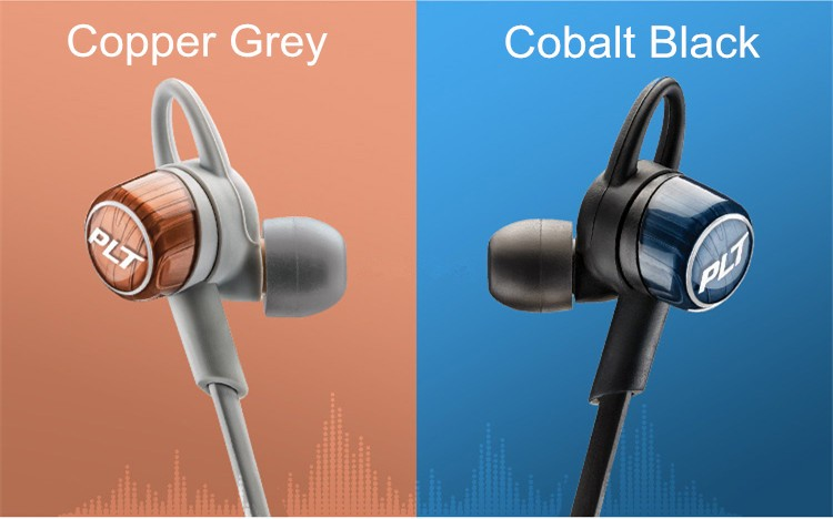 IN STOCK !! BackBeat GO 3 sports Wireless earbuds Copper Grey and Gobalt Black bluetooth earphone headphones with charging case