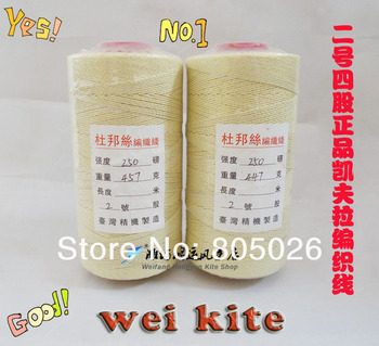 High quality  4# Kevlar line  4 strands 990m superior products extra grade traction kite line hot