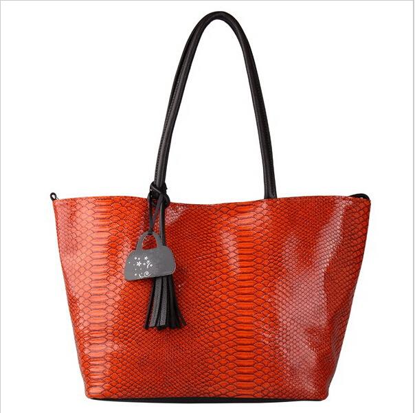 VEEVAN 2015 Fashion Brand Women Handbags Serpentine Tote Bags Shoulder Bag PU Leather Ladies Handbags Messenger Bag Wholesale(China (Mainland))