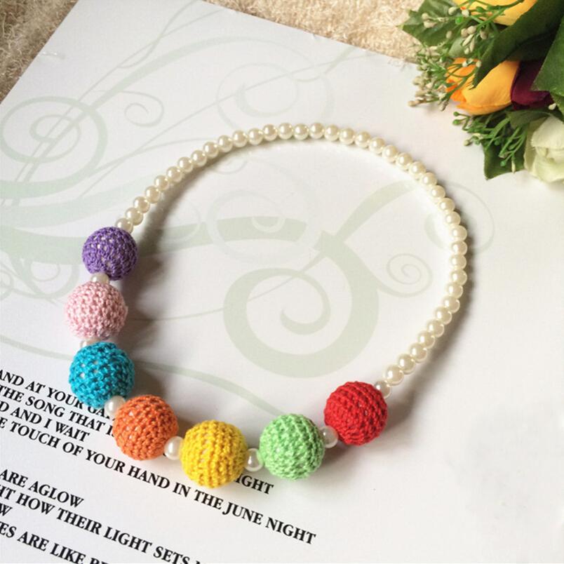 Южной кореи прекрасные изящных ювелирных изделий детская прямая производителей , продающих конфеты цвет пряжи жемчужное ожерелье