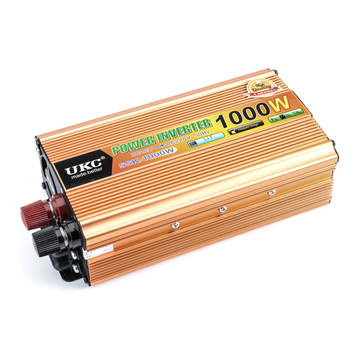 Car inverter 1000W DC 12 v to AC 220 v vehicle power supply switch on-board charger car inverter YA176(China (Mainland))
