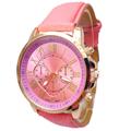 SmileOMG Hot Fashion Women Leather Rhinestone Analog Quartz Wrist Watches Free Shipping,Aug 26