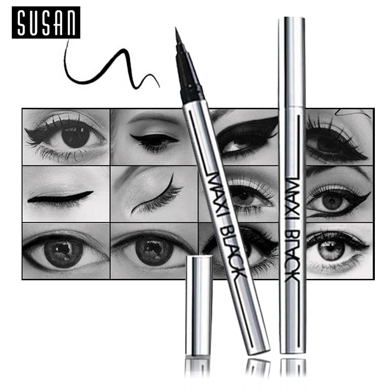 1 PCS Hot Ultimate Black Liquid Eyeliner Long-lasting Waterproof Eye Liner Pencil Pen Nice Makeup Cosmetic Tools(China (Mainland))