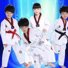 20pcs/lot Long Sleeves White Taekwondo Suit